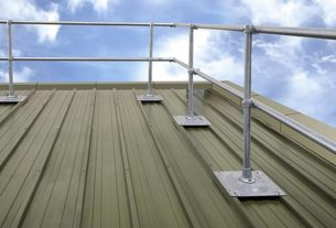 Protective Safety Railing System